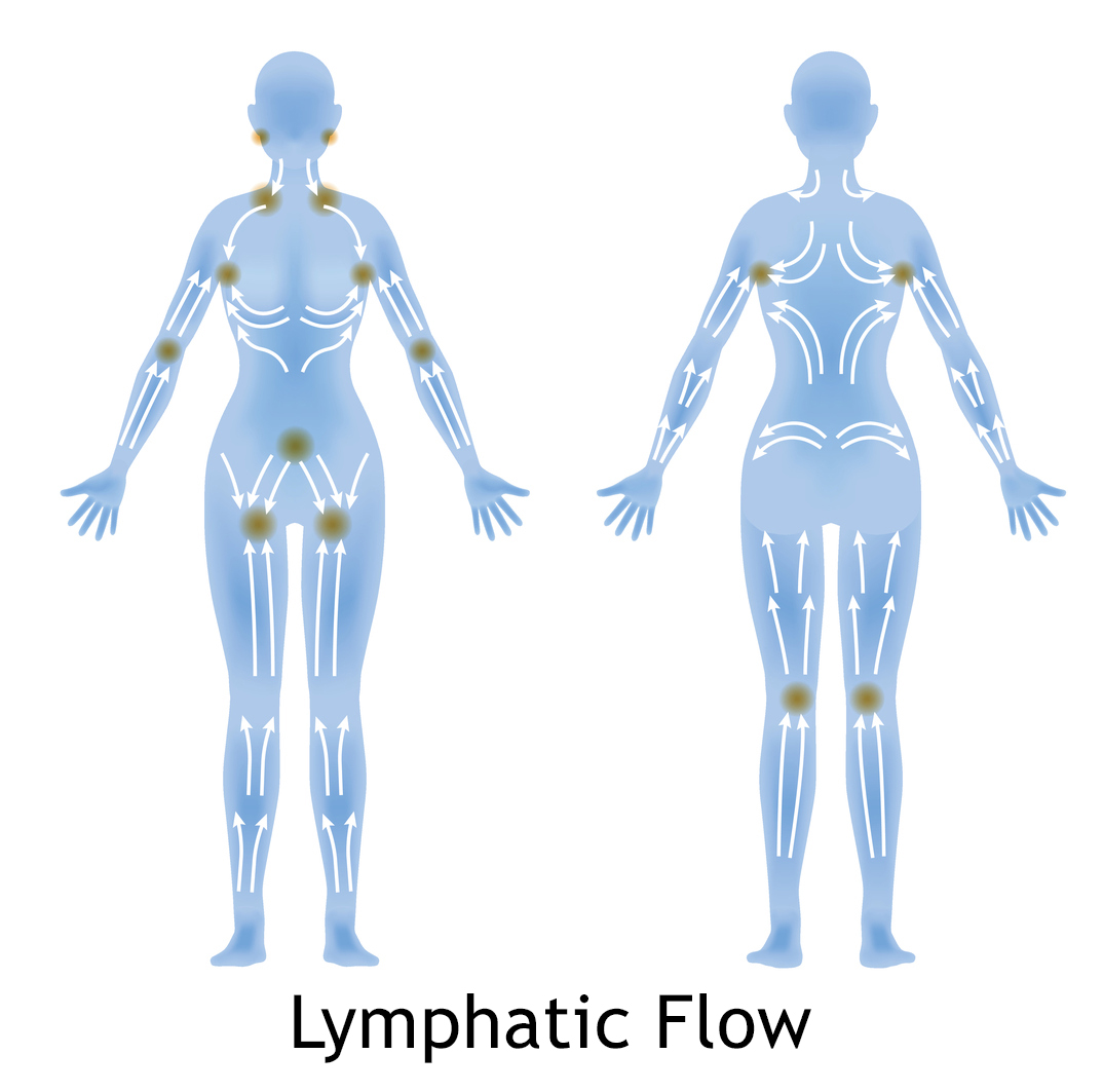 Manual lymphatic drainage with suction cups 2 5